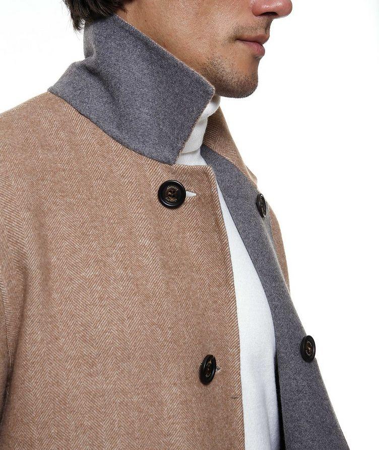 Reversible Wool Coat image 5