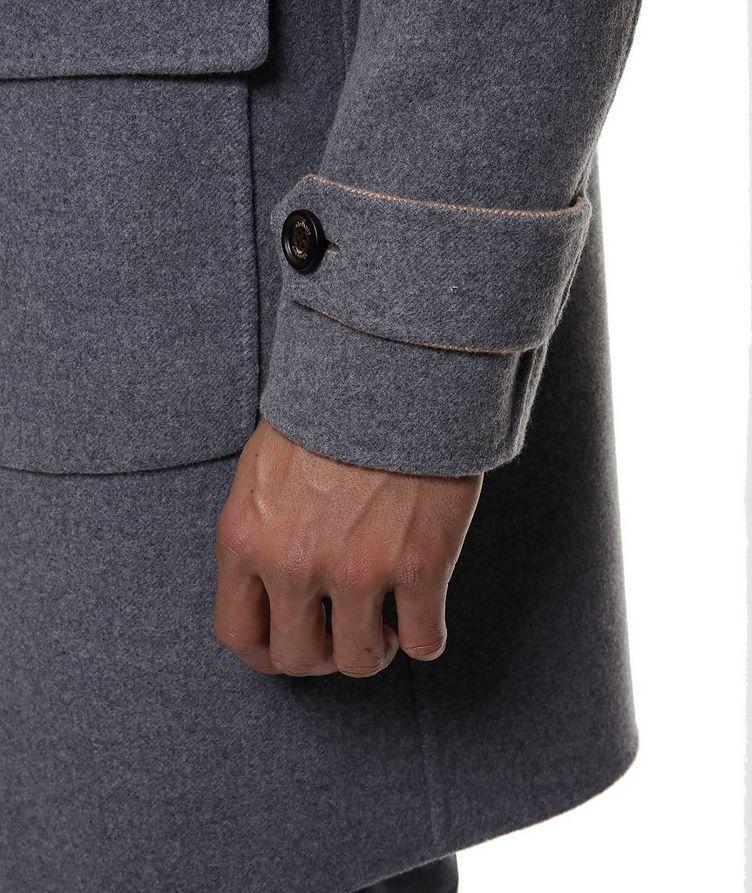Reversible Wool Coat image 6