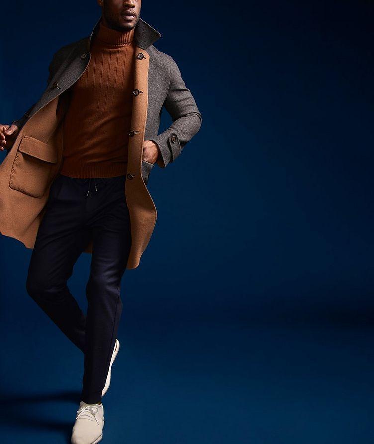 Reversible Wool Coat image 7