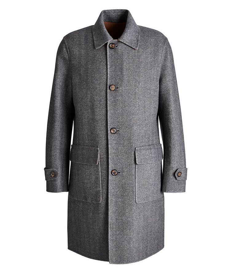 Reversible Wool Coat image 0