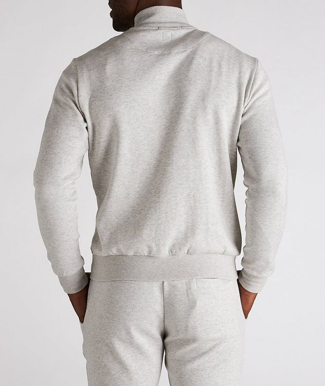 Zip-Up Cotton-Blend Sweater picture 3