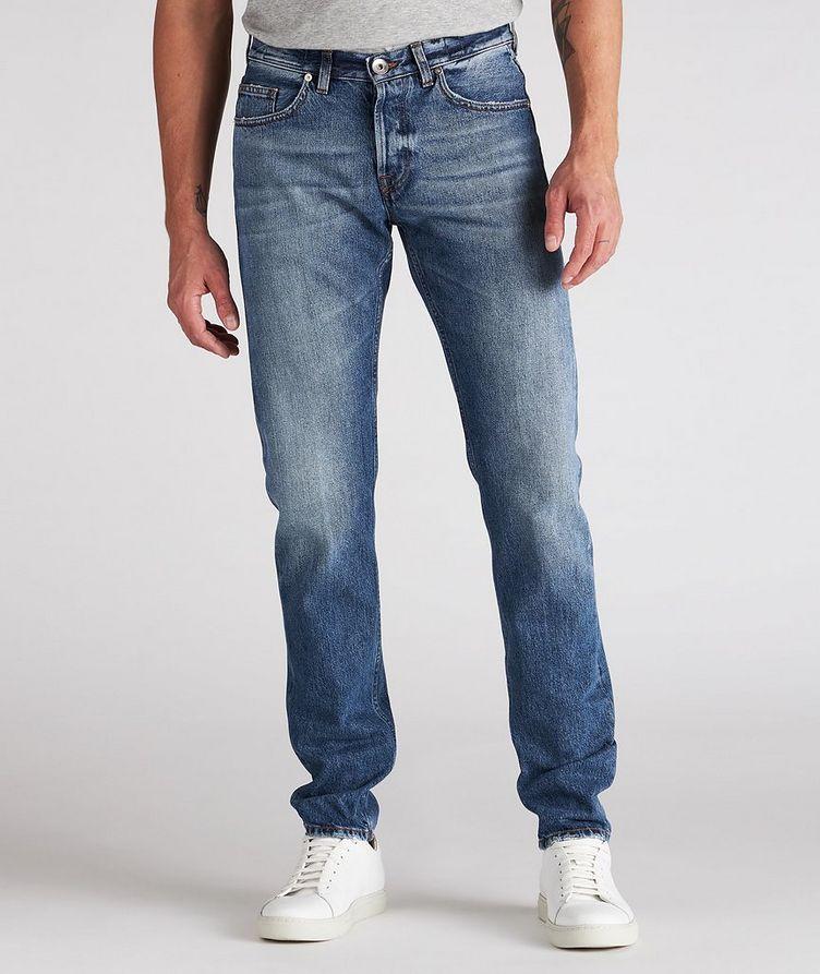 Slim-Fit Cotton Jeans image 1