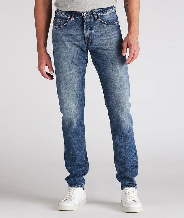 Slim-Fit Cotton Jeans picture 2