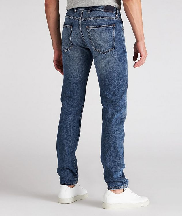 Slim-Fit Cotton Jeans picture 3