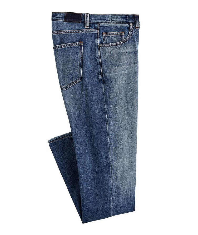 Slim-Fit Cotton Jeans image 0