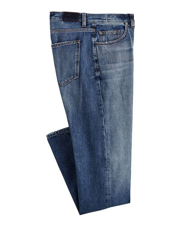 Slim-Fit Cotton Jeans picture 1