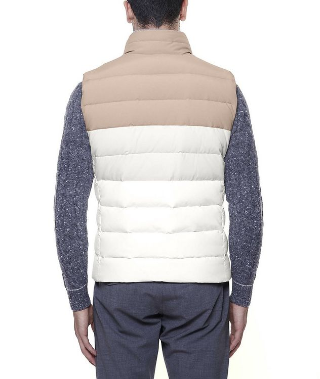 Two-Tone Quilted Down Vest picture 3