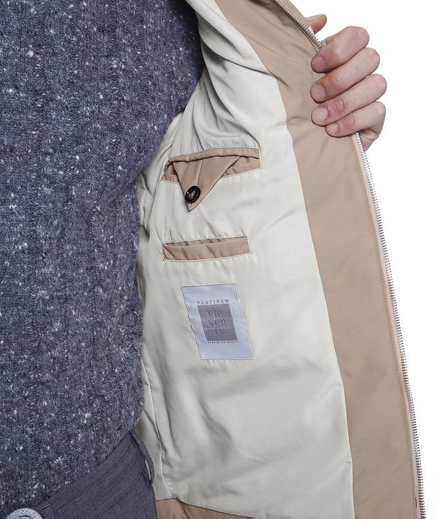 Two-Tone Quilted Down Vest picture 6