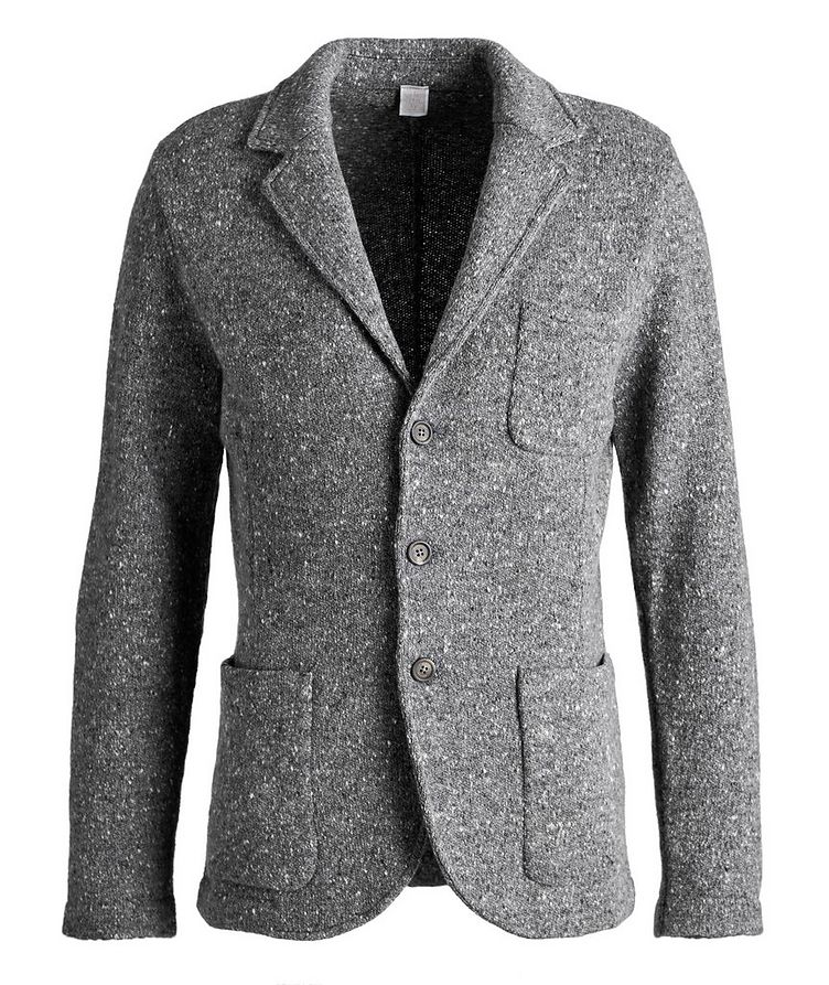 Knitted Wool-Cashmere Sports Jacket image 0