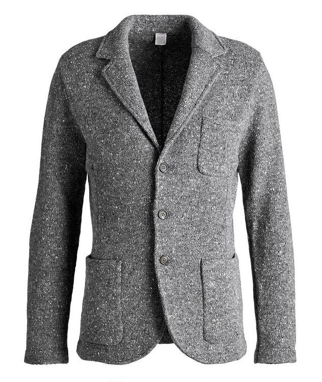 Knitted Wool-Cashmere Sports Jacket picture 1