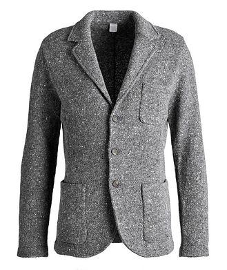 Eleventy Knitted Wool-Cashmere Sports Jacket