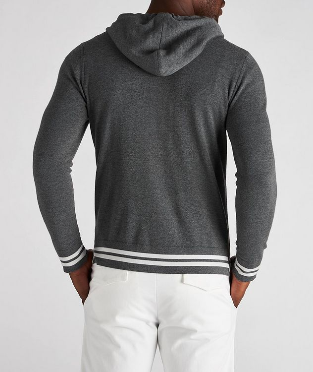 Hooded Wool Cardigan picture 3