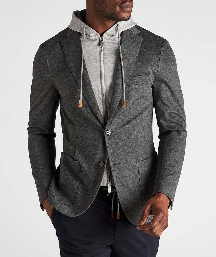 Unstructured Hooded Travel Jacket image 1