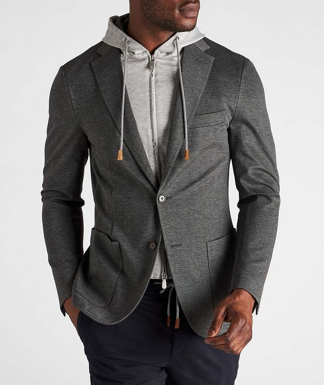 Unstructured Hooded Travel Jacket picture 2