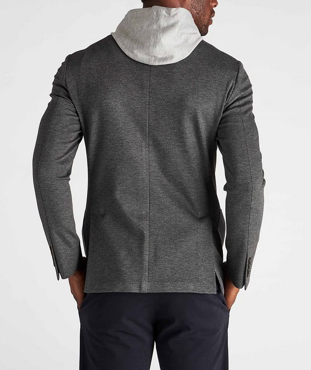 Unstructured Hooded Travel Jacket picture 3