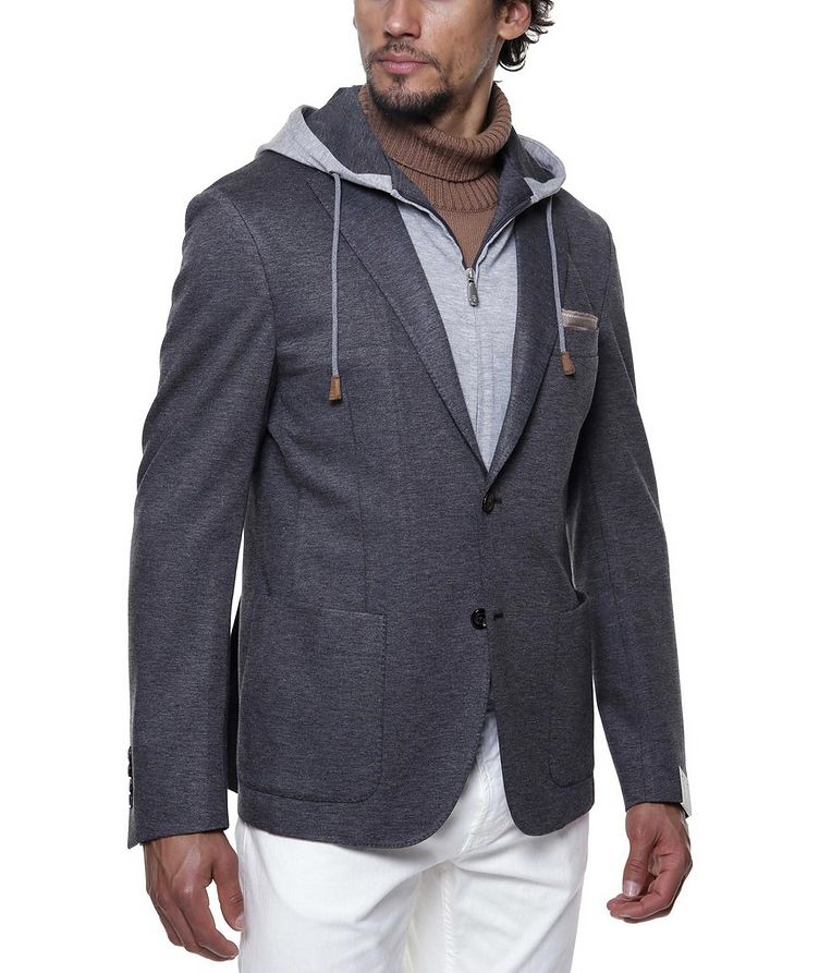 Unstructured Hooded Travel Jacket image 3