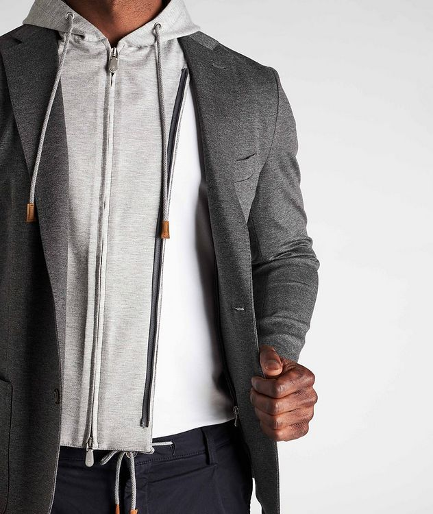 Unstructured Hooded Travel Jacket picture 6