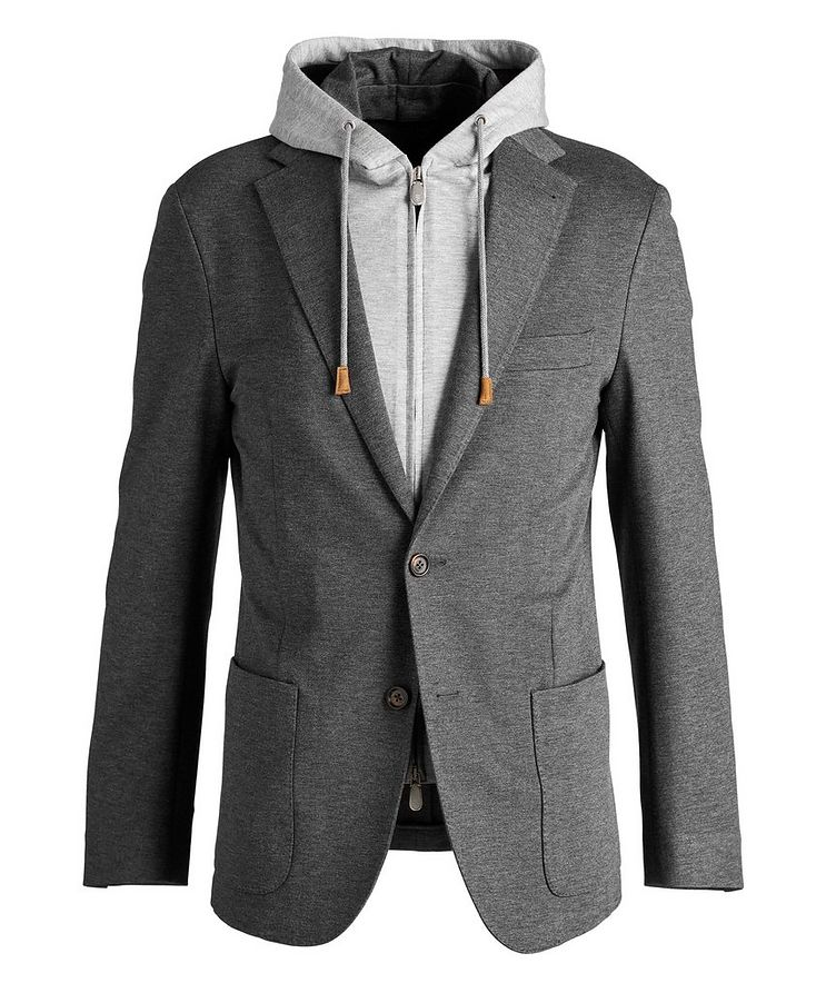 Unstructured Hooded Travel Jacket image 0