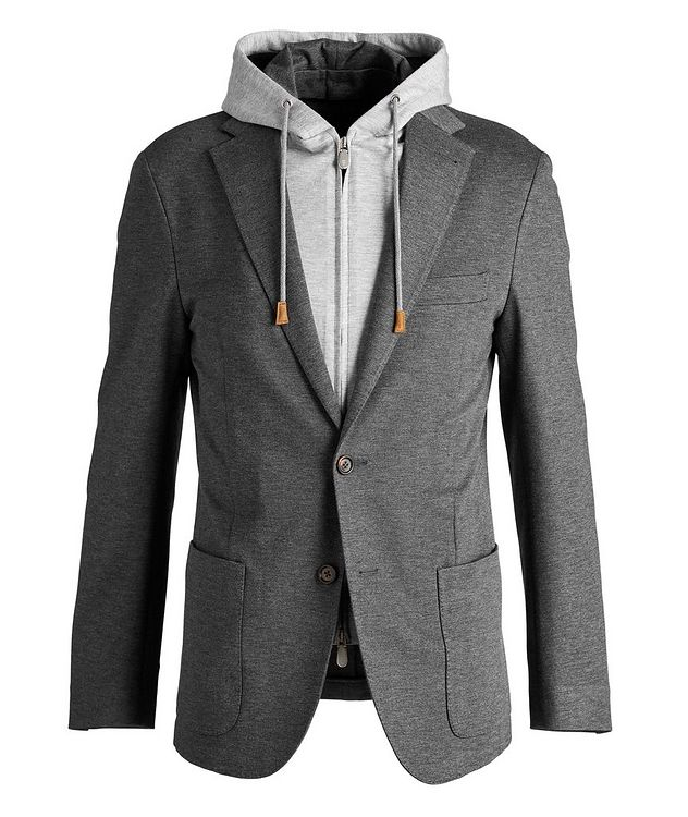 Unstructured Hooded Travel Jacket picture 1