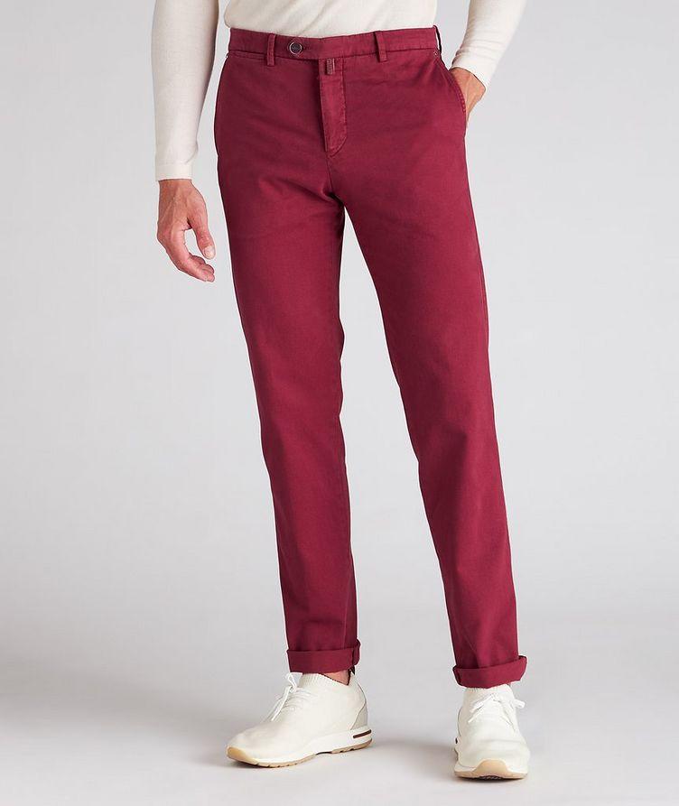 Stretch Cotton-Cashmere Chinos image 1