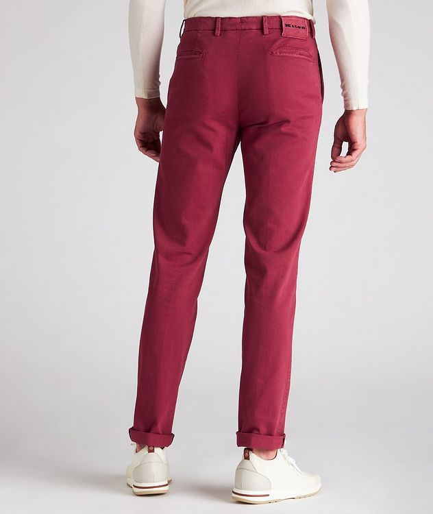 Stretch Cotton-Cashmere Chinos picture 3