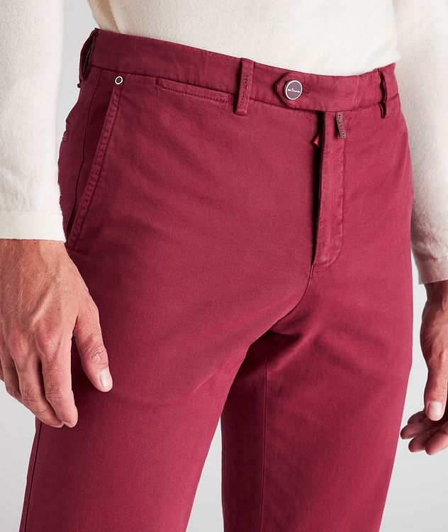 Stretch Cotton-Cashmere Chinos picture 4