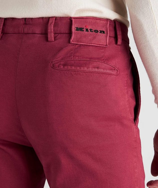 Stretch Cotton-Cashmere Chinos picture 5