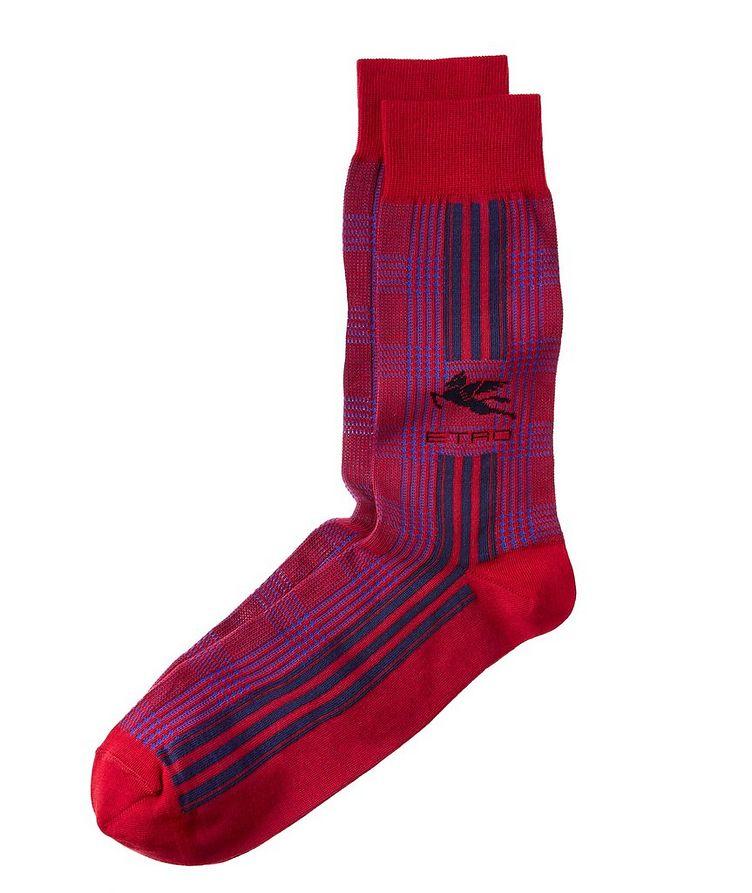 Pegaso Jacquard Socks image 0