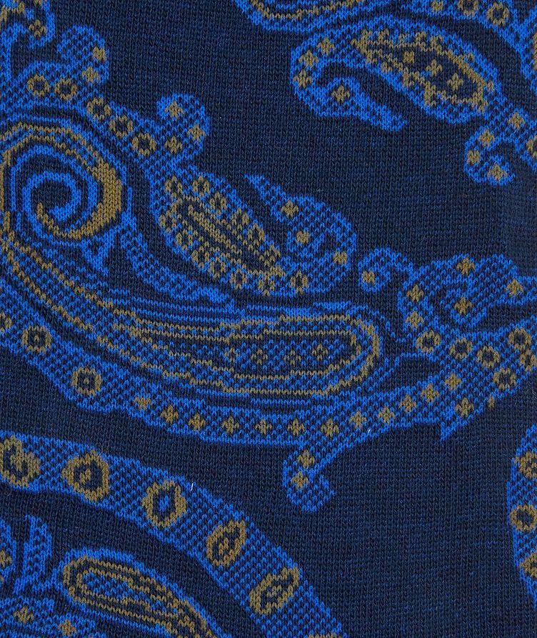 Chaussettes à tissage jacquard à motif paisley image 1