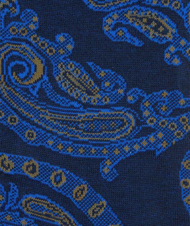Chaussettes à tissage jacquard à motif paisley picture 2