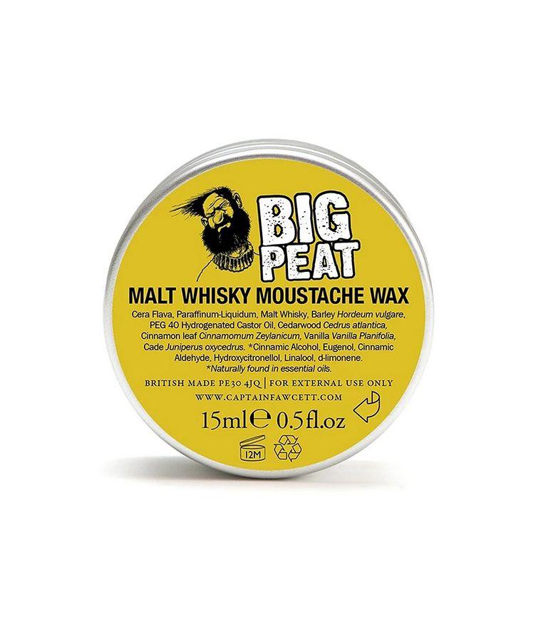 Islay Malt Whisky Moustache Wax  image 1
