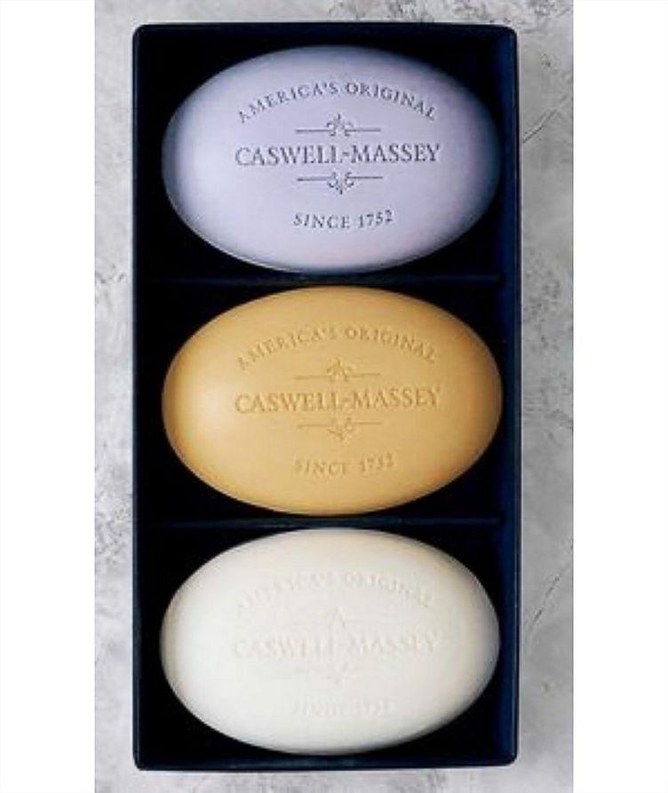 Caswell Massey Centuries Signature Three-Soap Set image 1