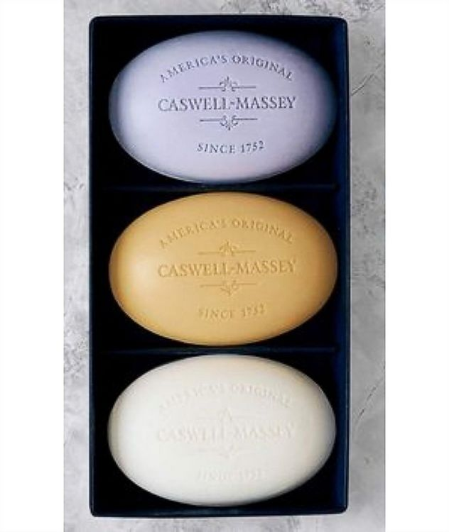 Caswell Massey Centuries Signature Three-Soap Set picture 2