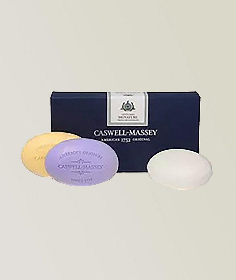 Caswell Massey Centuries Signature Three-Soap Set image 0