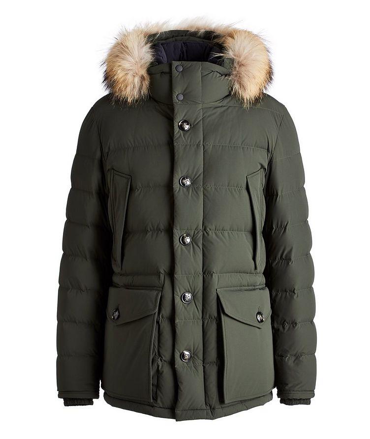 Fur Hooded Down Parka image 0