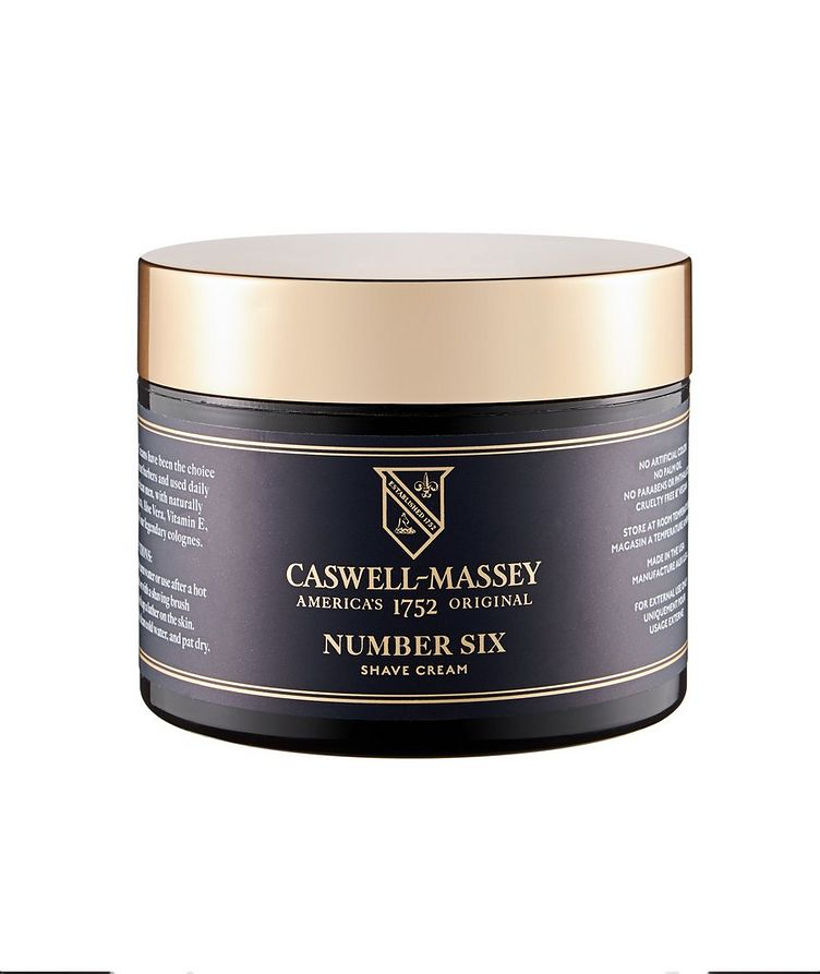 Caswell Massey Heritage Number Six Shave Cream in Jar image 0