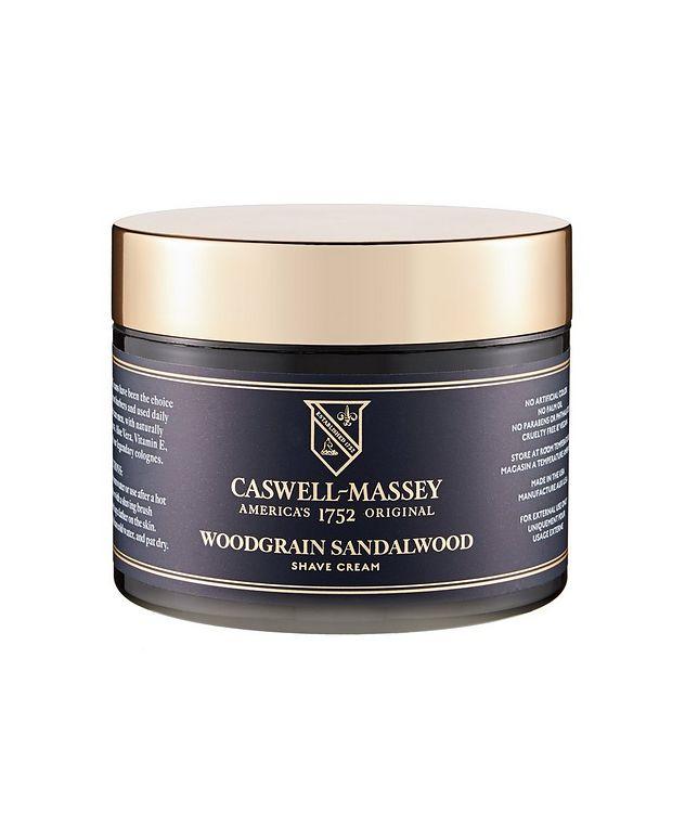 Caswell Massey Heritage Woodgrain Sandalwood Shave Cream in Jar picture 1