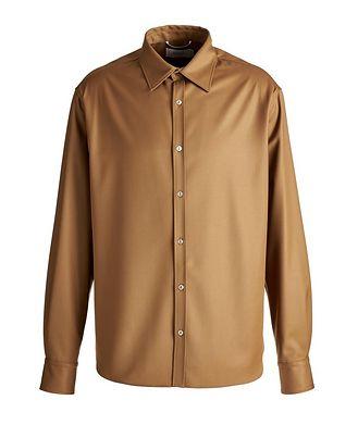 Agnona Wool Flannel Shirt