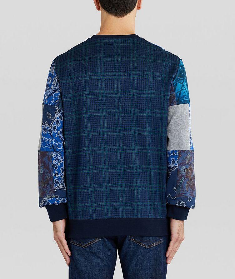 Paisley Patchwork Cotton-Blend Sweatshirt image 2