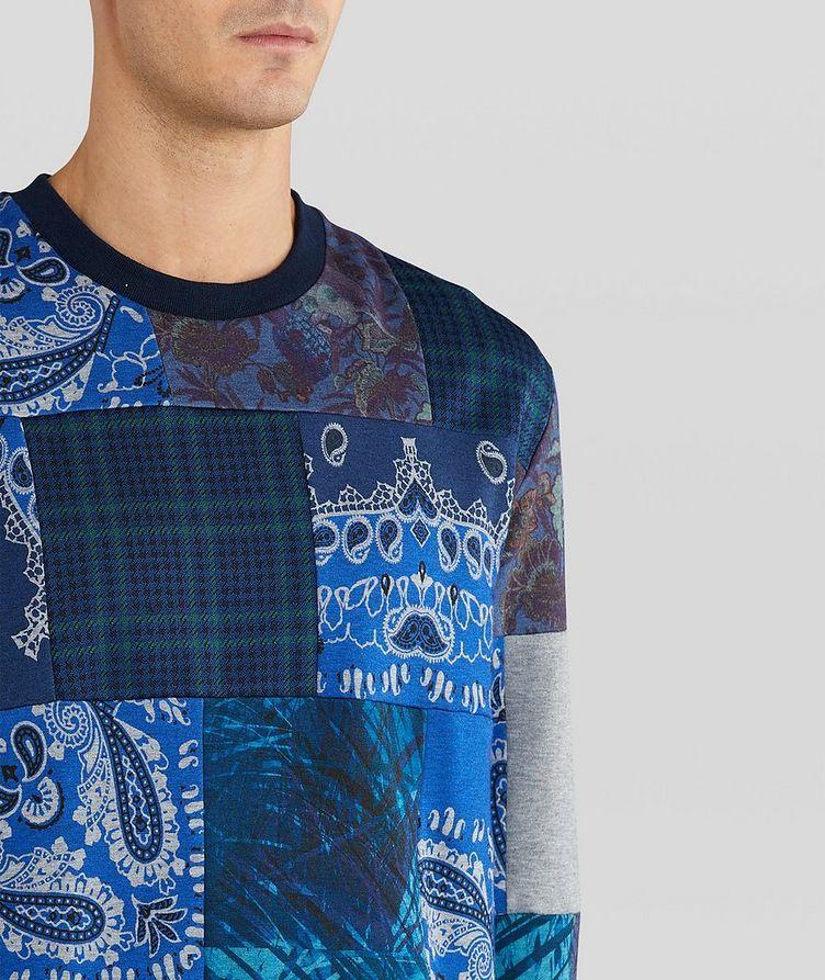 Paisley Patchwork Cotton-Blend Sweatshirt image 3