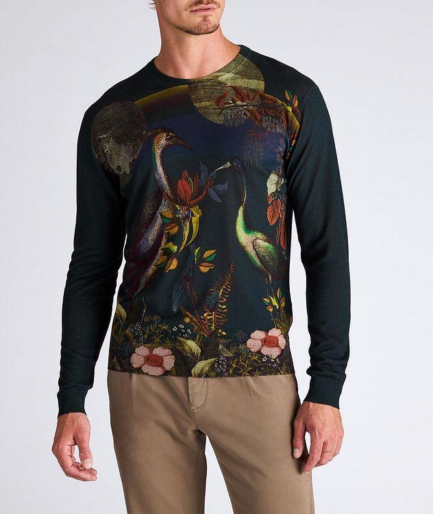 Printed Silk-Cashmere Sweater picture 2