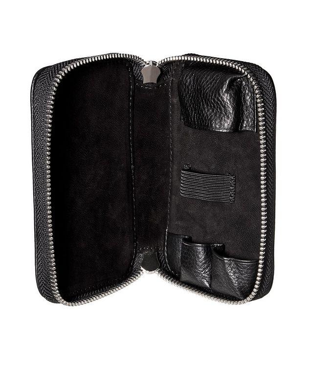 Pebble Leather DE Safety Razor Case  picture 2