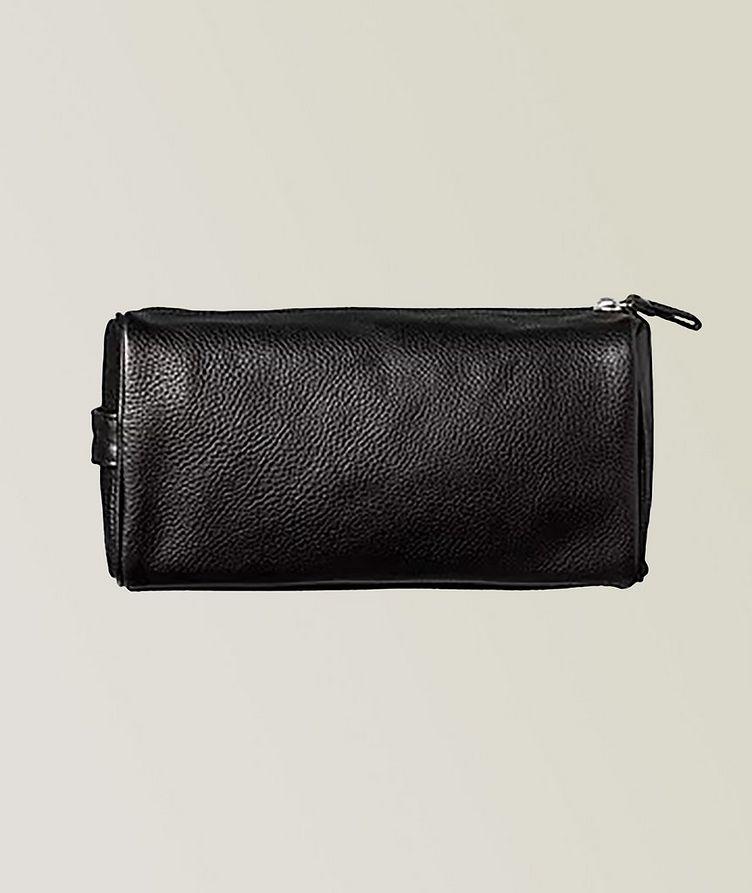 Pebble Leather Dopp Bag  image 0