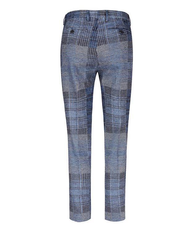 Patchwork Wool-Blend Dress Pants picture 2