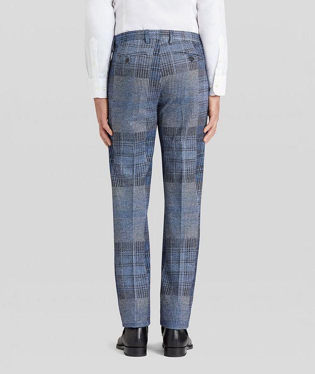 Patchwork Wool-Blend Dress Pants picture 4