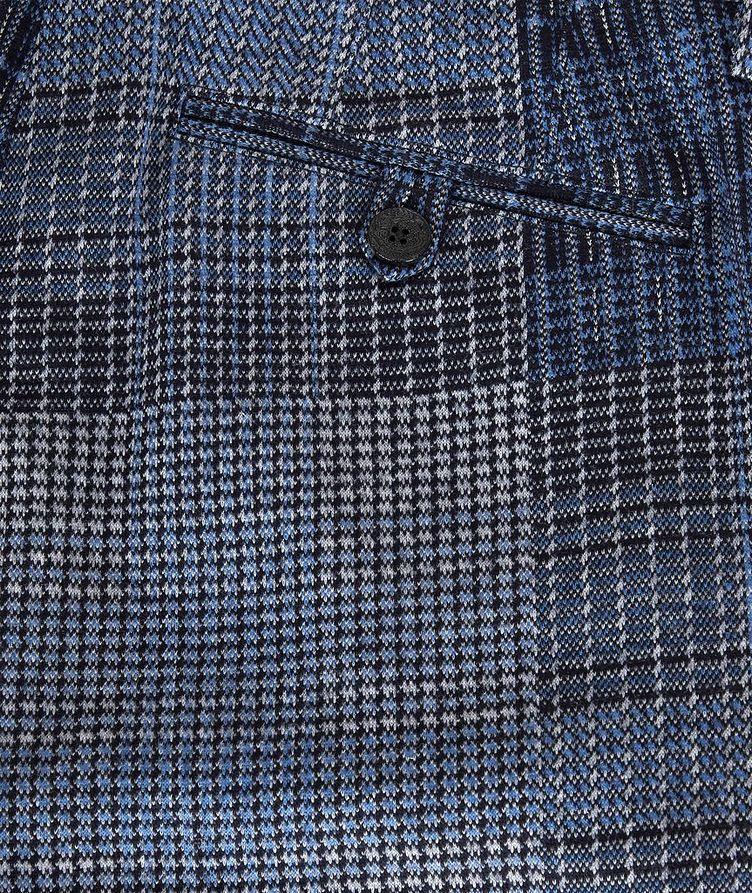 Patchwork Wool-Blend Dress Pants image 5