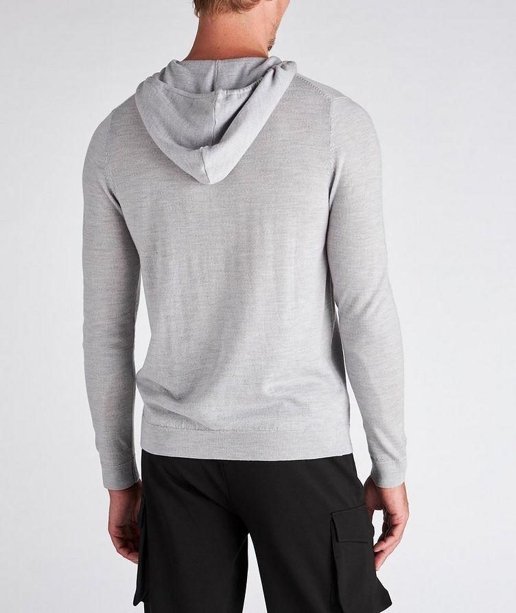 Zip-Up Merino Wool Hoodie image 2