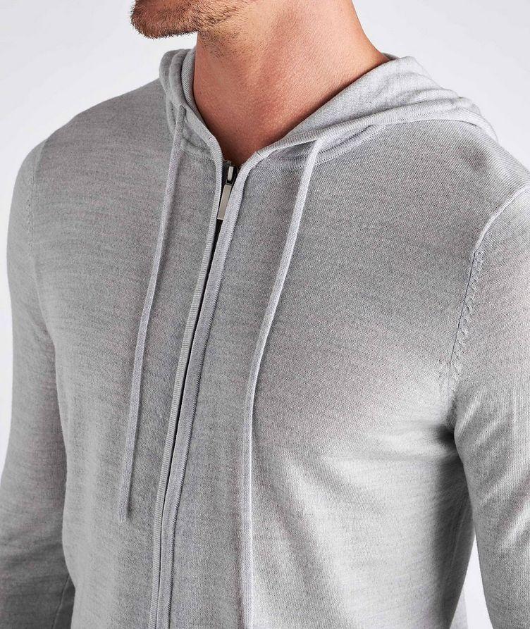 Zip-Up Merino Wool Hoodie image 3
