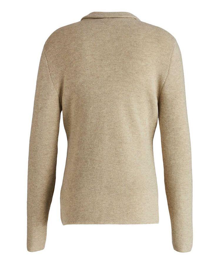 Shawl Collar Cashmere Sweater image 1