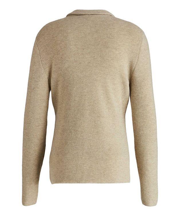 Shawl Collar Cashmere Sweater picture 2